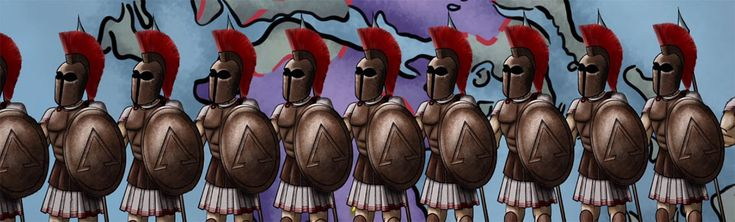 The military might of the Spartan army was well-known in the ancient Greece. There is no doubt that Sparta's system of government, code of conduct, militaristic training