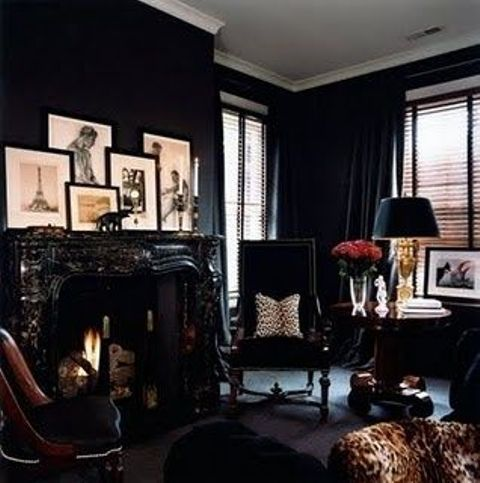 18 Cool Gothic Living Room Designs | DigsDigs - 25+ Best Ideas About Gothic Living Rooms On Pinterest Gothic