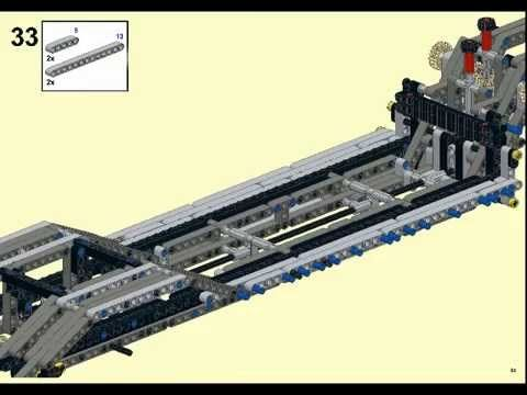 Lego technic 42009 alternative model Truck transporter 100% - YouTube