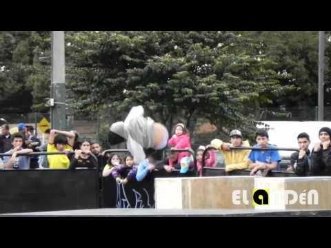 Roller Derby Colombia, bogota Bone Breakers. video