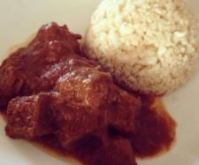 Recipe Beef Madras - Recipe of category Main dishes - meat