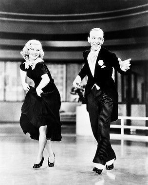 FRED ASTAIRE GINGER ROGERS FLYING DOWN TO RIO 11X14 PHOTO TAP DANCING