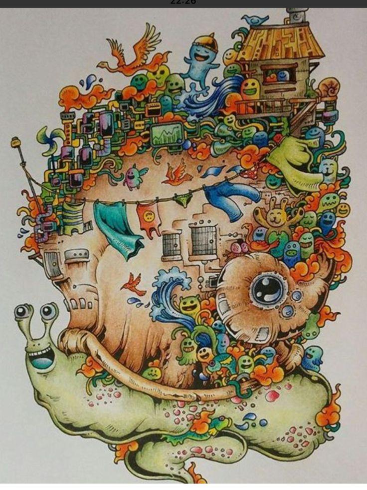 243 Best Doodle Invasion Images On Pinterest