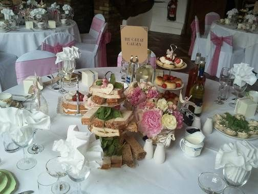 Smeetham Hall afternoon tea  - beautiful ideas and concepts for your barn wedding - if you are looking for a barn wedding venue in Essex take a look at Smeetham Hall Barn at www.smeethamhall.co.uk