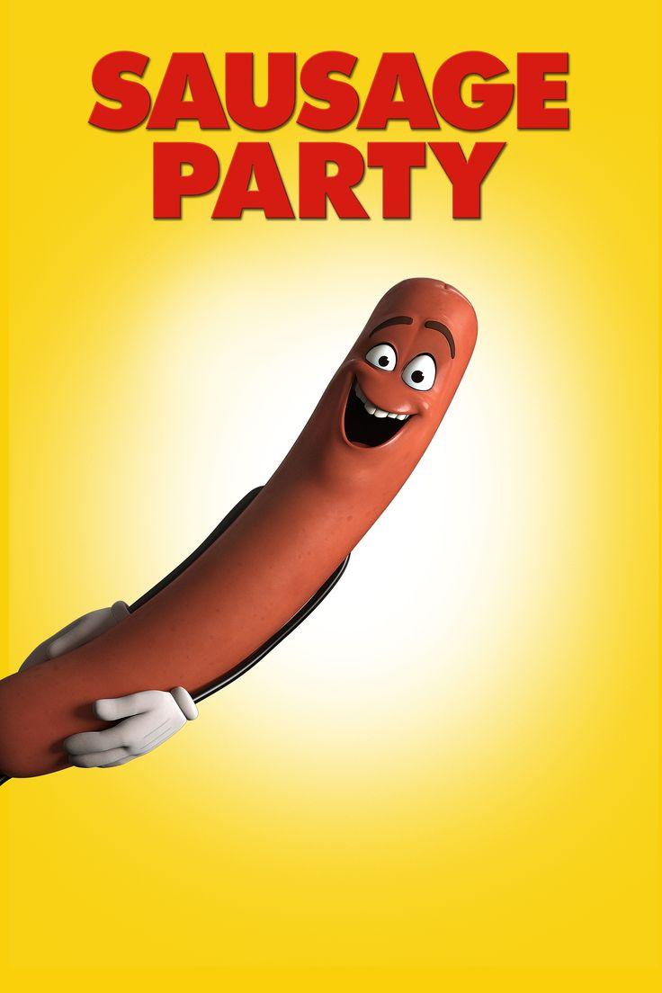 Sausage Party Movie Poster - Seth Rogen, Jonah Hill, James Franco  #SausageParty, #SethRogen, #JonahHill, #JamesFranco, #ConradVernonGregTiernan, #Comedy, #Art, #Film, #Movie, #Poster