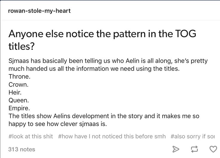 Wait, so what is book 6 gonna be called because we know it's going to be equally revealing. Sarah.....