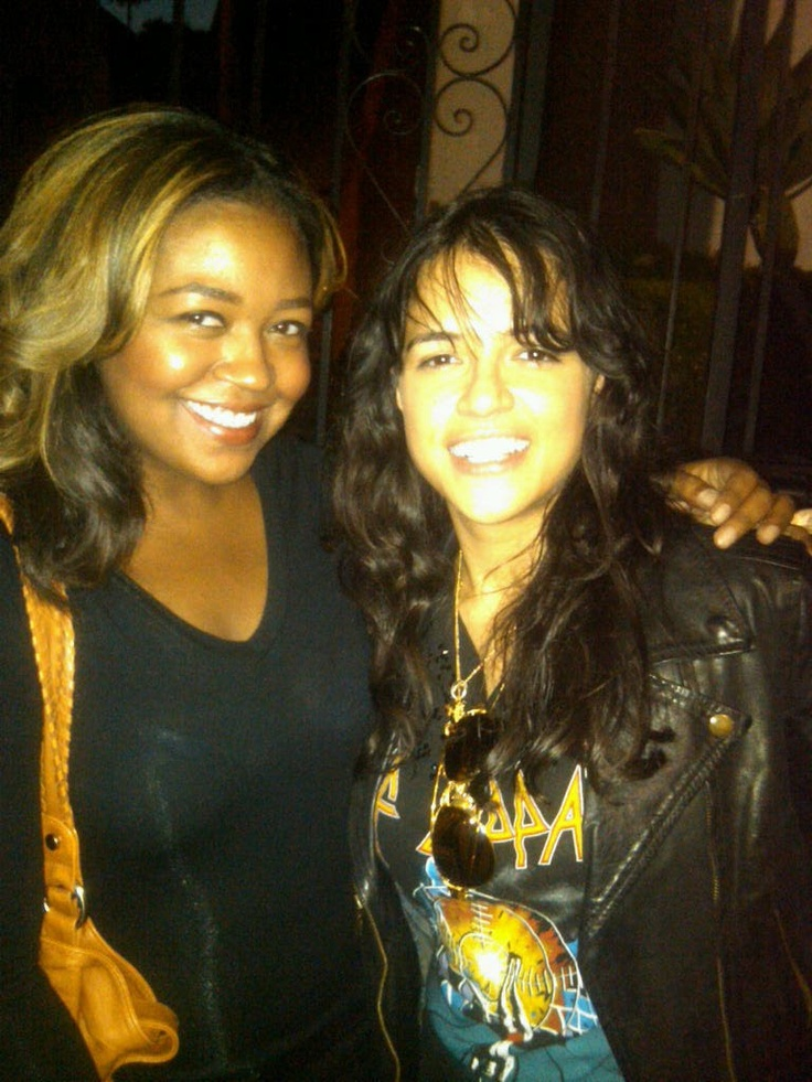 My little sister Christy of Suite 106 Cupcakery and Michelle Rodriguez