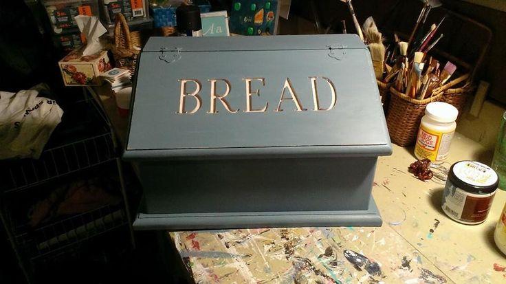 Outside of breadbox.