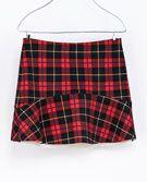 CHECKED SKIRT - Skirts - TRF | ZARA United Kingdom