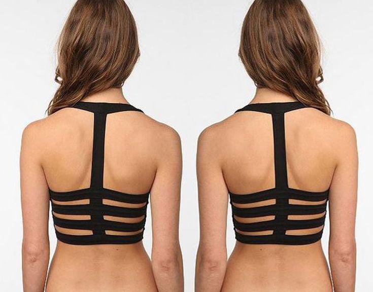 DIY: old bra, new straps