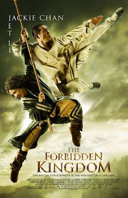 The Forbidden Kingdom. Awesome movie! And not to forget the epic battle of jet li and jacky chan. Two martial arts legends.