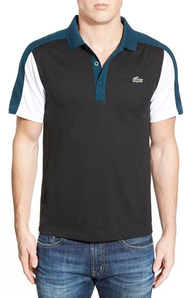 Lacoste Ultra Dry Colorblock Polo available at #Nordstrom