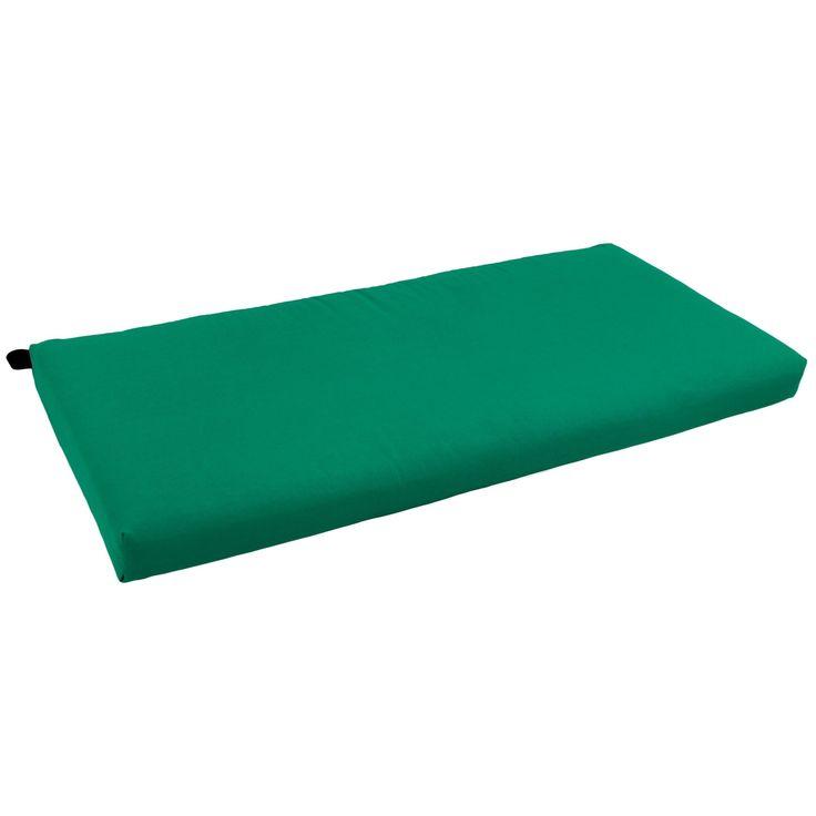 Blazing Needles 42-inch Twill Indoor Bench Cushion