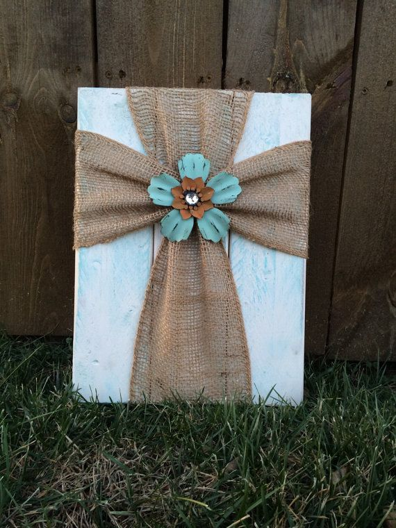 Cross wall decor by THEURBANUPCYCLETN on Etsy