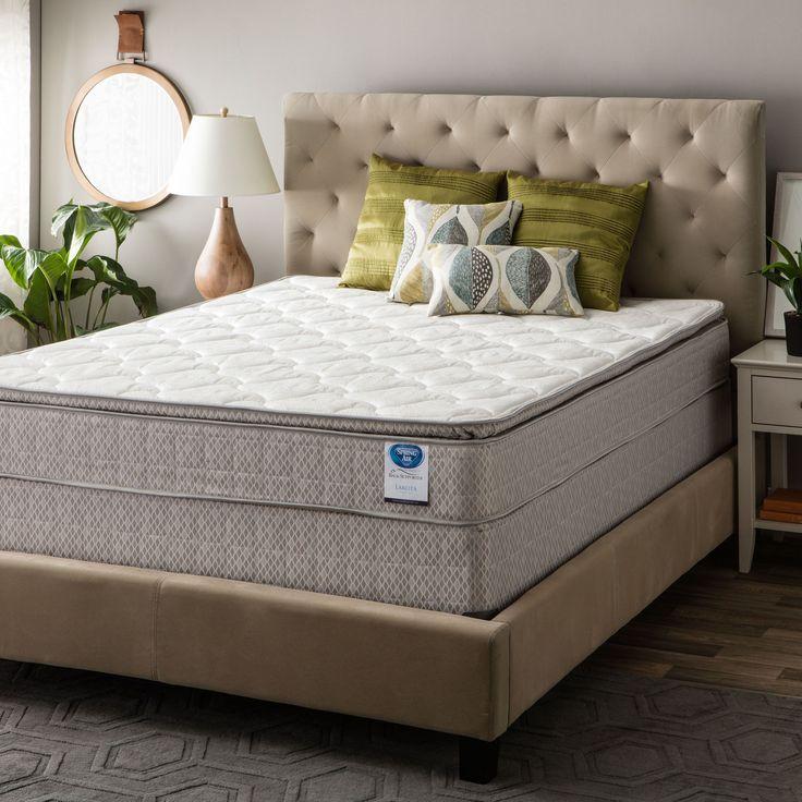 Spring Air Value Collection Lakota Cal King Size Pillow Top Mattress Set Mattresses Pinterest And