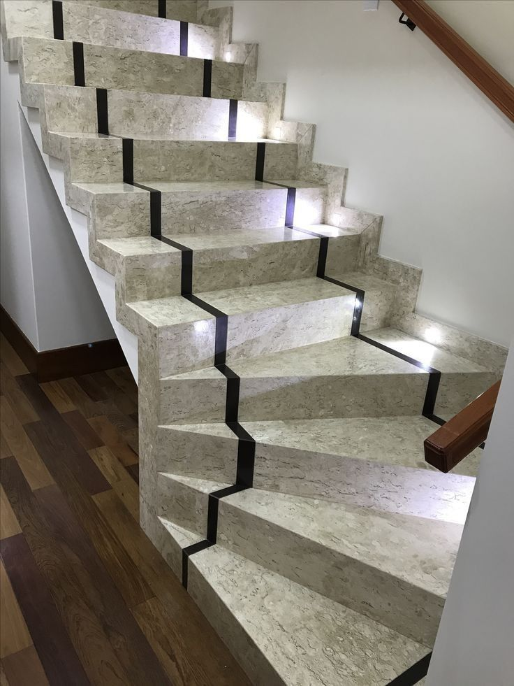 Awesome Granite Staircase Designs in 2020 | Stairway design, Stair railing  design, Home stairs design