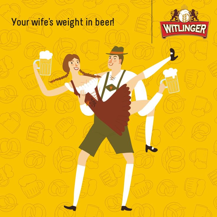 At the Wife Carrying World Championship in Finland, the first prize is the wife's weight in beer. We're sure more husbands would attend if they were serving #WitlingerWheatAle  #WitlingerBeer #WheatBeer #CraftBeer