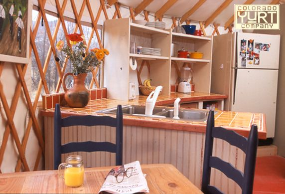 17 Images About Yurt Kitchens On Pinterest Islands