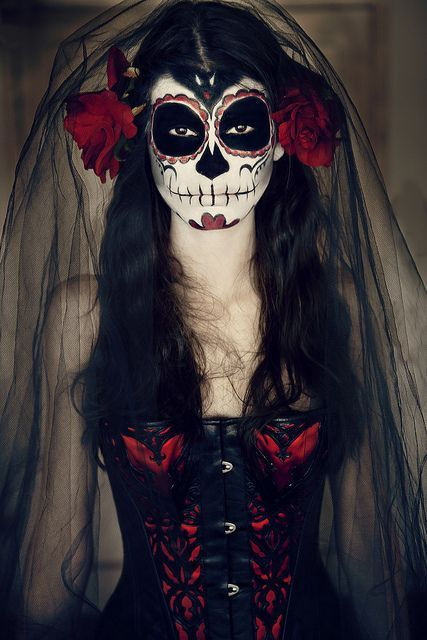 Maquillaje de La Catrina #halloween #pasoapaso #tutorial