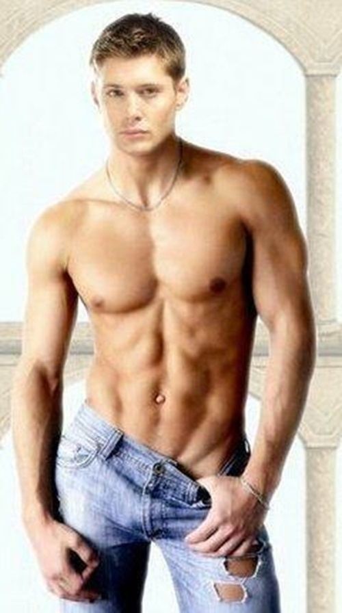 [Jensen Ackles] 0% Body Fat, 100% COME ON! Http://www