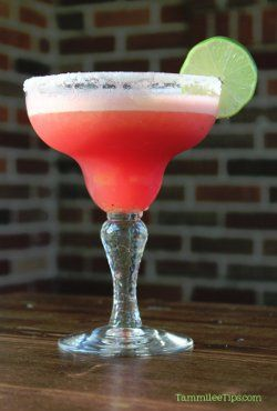 Copycat Chili's Watermelon Margarita Recipe | AllFreeCopycatRecipes.com