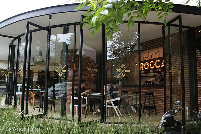 Rocca and Co from outside