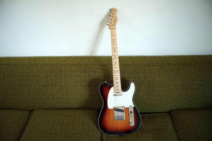 This sweet #Fender Elite Series #Telecaster is a perfect couch companion