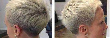Igelschnitte …, speziell für Frauen, die einen kurzen fransigen Haarschnitt lieben …