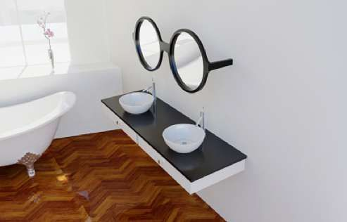 eyeglasses mirror