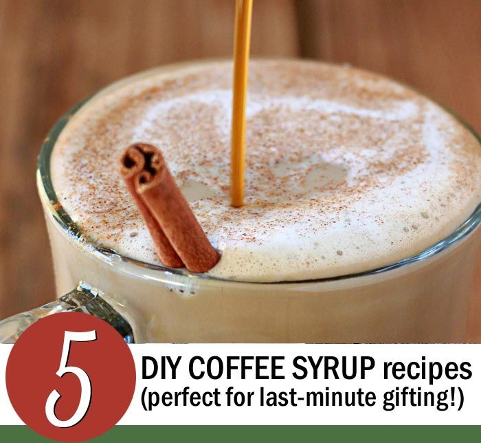 5 DIY Coffee Syrup Recipes. I just made the chocolate sauce instead of buying one for $18. SO EASY. Love.