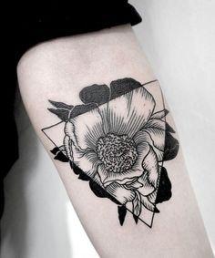 100 geometric and geometric-inspired tattoos.