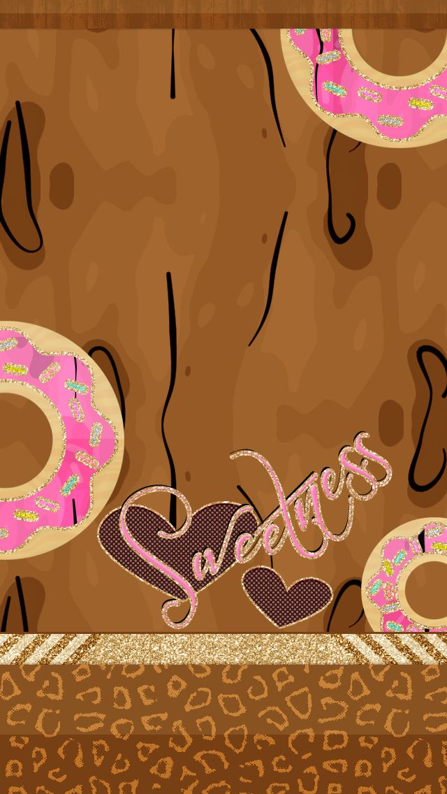 A delicious donut wallpaper by @iPrettied. Found on iprettied.com & it's free fo...