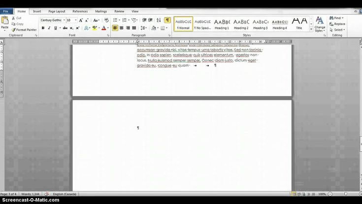 Getting Rid Of A Blank Page In Word Hacking Computer Words Computer Technology