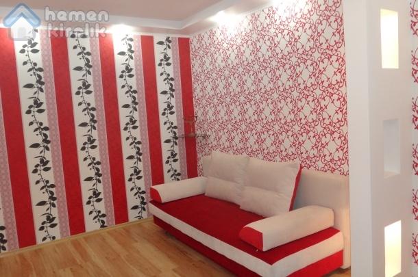 Dnepropetrovsk Merkezinde Tek Yatak Odalı Wi-fi Donanımlı Daire