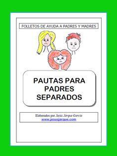 Padres separados: folleto para imprimir