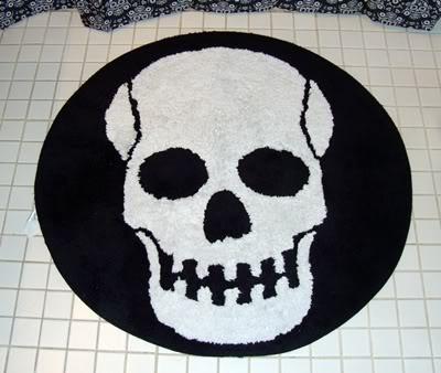 * Skull Bath Rug *