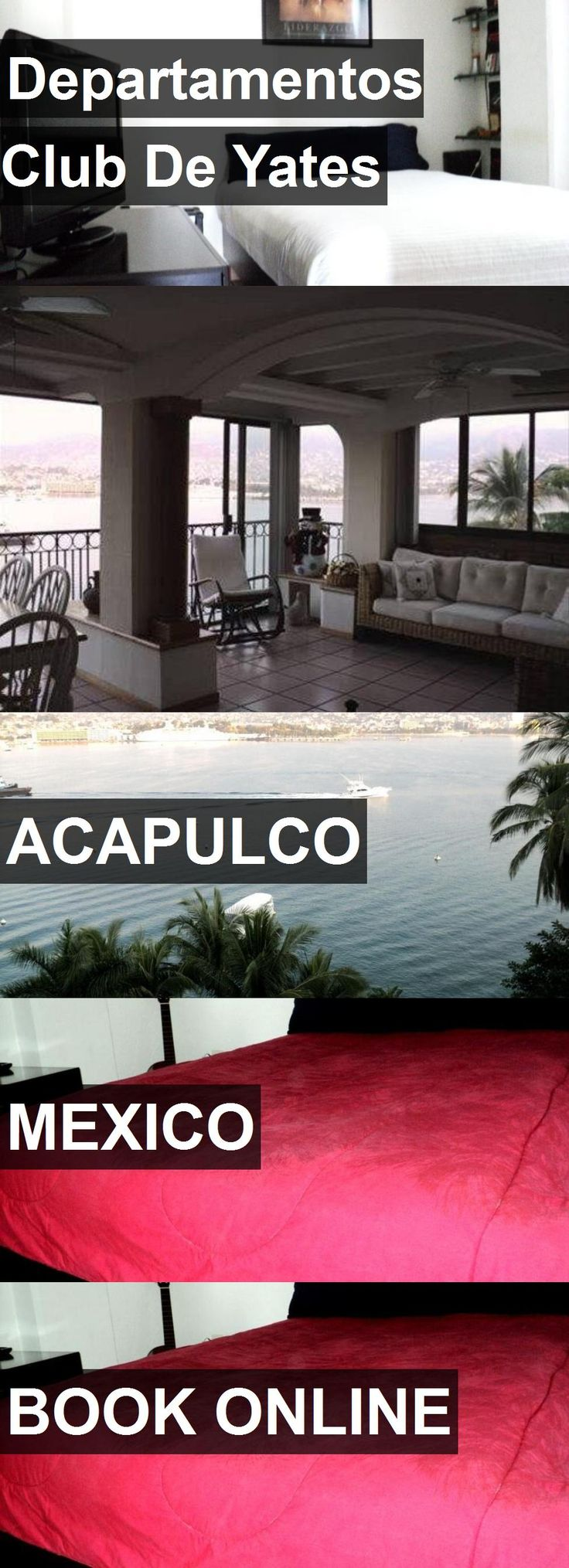 Hotel Departamentos Club De Yates in Acapulco, Mexico. For more information, photos, reviews and best prices please follow the link. #Mexico #Acapulco #travel #vacation #hotel