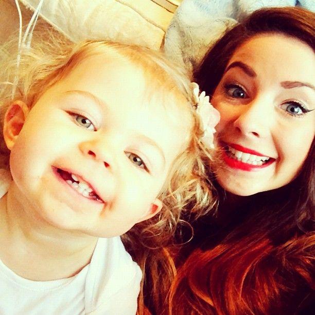 Zoella and Baby Glitter