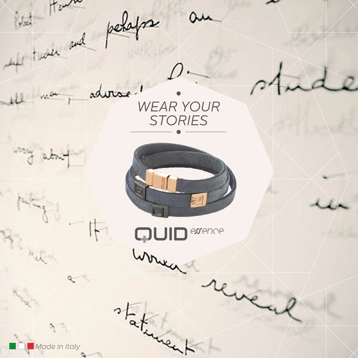 #Design your own #personalized #jewel with Quid: choose its shape and colour, and make it special with your favorite dates and letters.  #bracelet #giftforhim