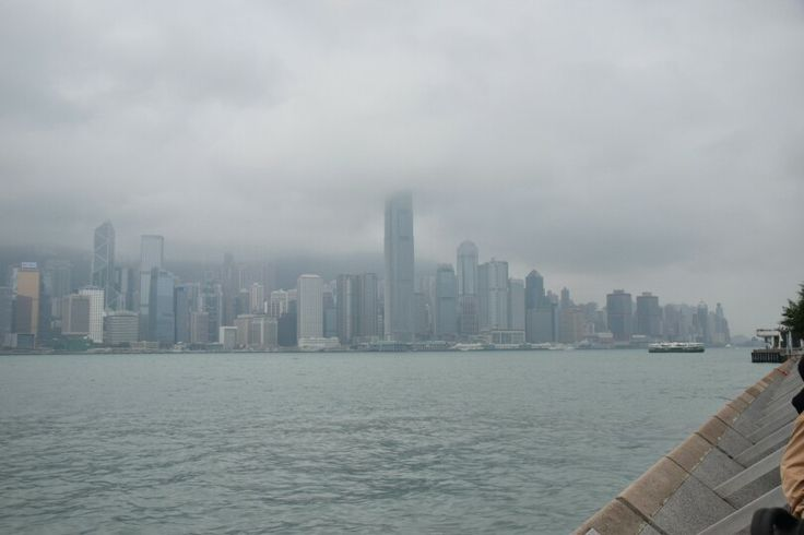 Hong Kong from across the Bay in Kowloon