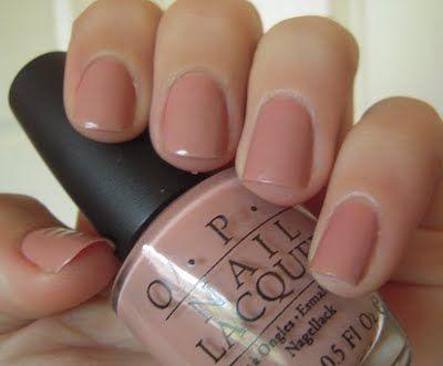 OPI Dulce De Leche. My new favorite nail polish.
