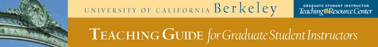 UC Berkeley Teaching Guide for GSIs