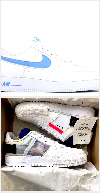 Nike Air Force 1 07 3 White University Blue AO2423-100, #Air #AO2423100 #blue #Force #Nike #University #white