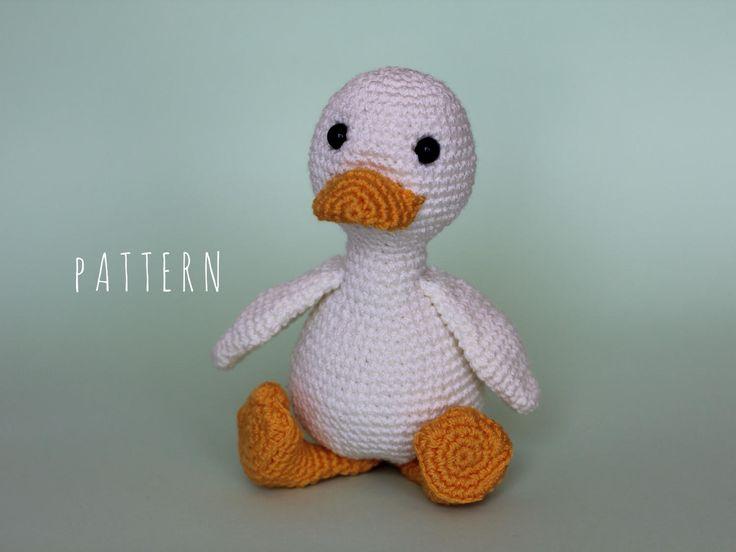 Amigurumi Duck Tutorial : Best crochet i like ducks images chrochet