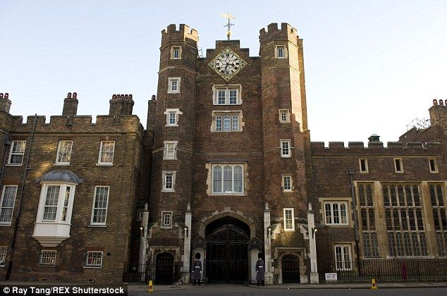 For the first time in its history the British Monarchy is renting out two luxury apartments within the walls of St James's Palace (pictured) just off London's Pall Mall