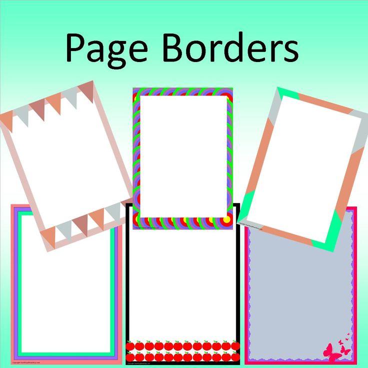 word document borders free