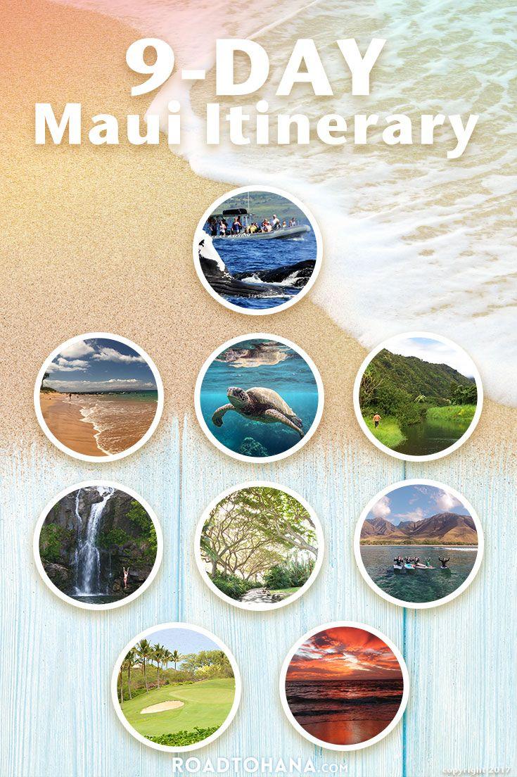 9-Day Maui Itinerary
