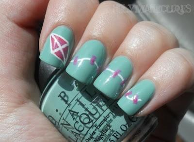Cute kite nails <3: Kites Design, Nails Art, Manicures Nails, Cute Ideas, Kites Nails, Nails Ideas, Design Nails, Nail Art, Nails 3