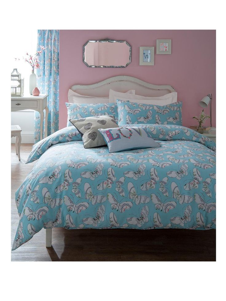 Bohemian Butterfly Duvet Cover And Pillowcase Set In Single, Double And  King Sizes Give Your