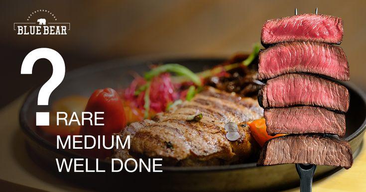 Vyberte si svoj steak v Blue Bear